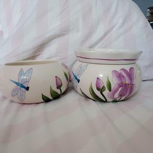 African Violet planter set